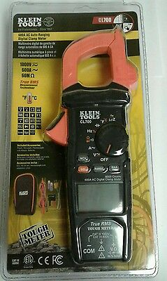 ***NEW Klein Tool CL700 AC Auto Ranging 600 Amp Digital Clamp***