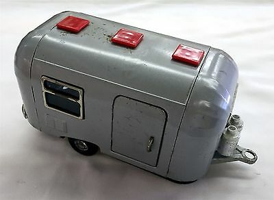 1950's or 60's BANDAI TIN TOY AIRSTREAM TRAILOR