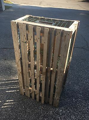 Authentic Vintage Wood Lobster Trap,crate,fishing,nautical Home,garden Decor