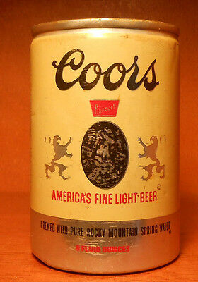 VINTAGE Coors Banquet 8 oz Can Pull Ring Strip Top
