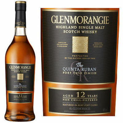Glenmorangie The Quinta Ruban 12 Yo Single Malt Scotch Whisky 700 Ml
