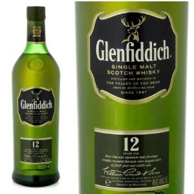 Glenfiddich 12 Yo Single Malt Scotch Whisky Boxed 700 Ml