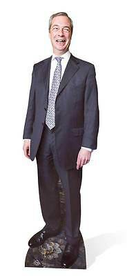 Nigel Farage Ukip Leader Politician Lifesize Cardboard Cutout / Stand Up