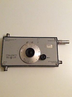 HP 394A Variable Attenuator