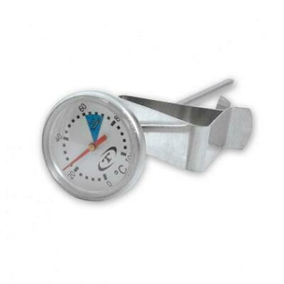 Milk Frothing Thermometer with Clip, 150mm Probe, Coffee Making, Cappuccino