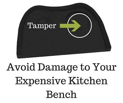 Tamp Mat Rhinowares Tamper Mat Protects Your Expensive Stone or Laminate Bench