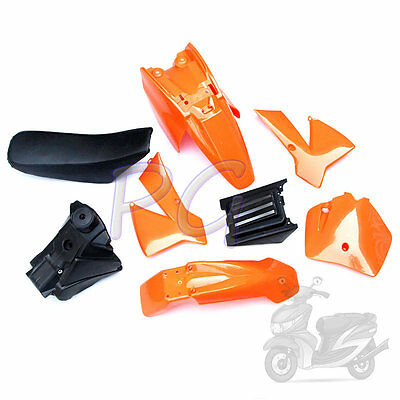 Oem New Ktm Sx 50Cc 50Sx Ktm50 Orange Plastics Fender Cover Tank Seat Kit Sr