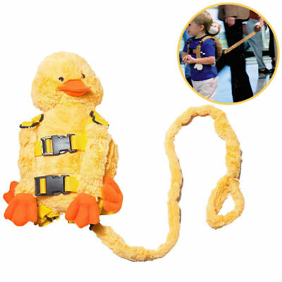 Children Walking Harness Duck Backpack Kids/Toddler Safety Leash Tether Strap