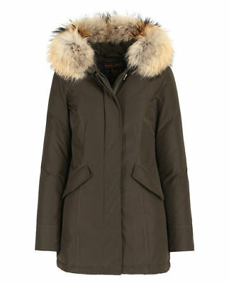 WOOLRICH Luxury ARCTIC PARKA (Slim Fit) DONNA colore VERDE - WWCPS2131SM20.6202