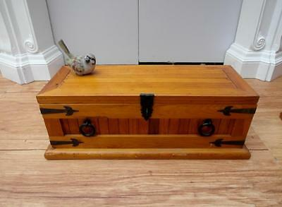 Small SOLID Timber STORAGE Chest TOY Box 2 available Adelaide