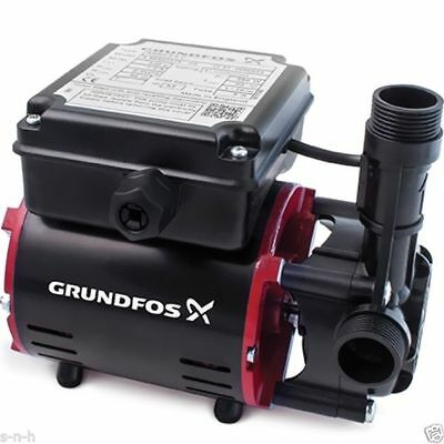 Grundfos Single Shower Pump 2 Bar SSR2-2 C Positive Shower Pump Niagara NEW