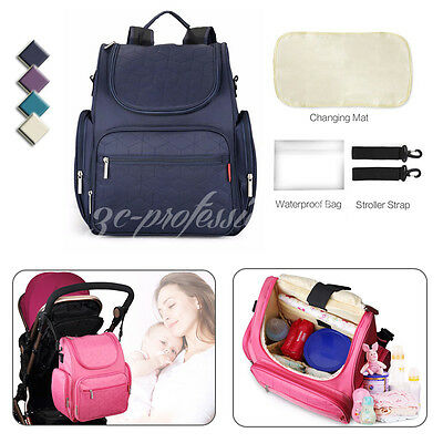 Multifunctional Mummy Backpack Maternity Rucksack Baby Diaper Nappy Changing Bag
