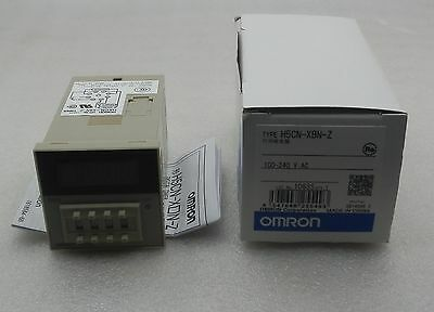 1pcs New OMRON Timer H5CN-XBN-Z (to replace H5CN-XBN ) 100-240VAC
