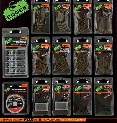 Fox Edges Carp Fishing Swivels, Links & Clips Terminal Tackle NEW
