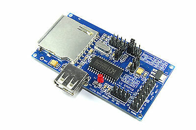 LC Technology CH376S USB SD Development Module LC-USB-CH376-DB Flux Workshop