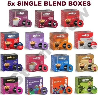 5x LAVAZZA A MODO MIO COFFEE PODS CAPSULES PACKS: ALL 15 BLENDS TO CHOOSE FROM