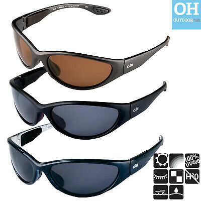 Gill Classic Sunglasses Black Grey Blue Sailing Floating UV Protection Glare-fre
