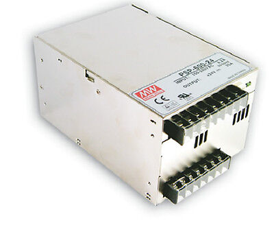 Mean Well PSP-600-15 AC/DC Power Supply Single-OUT 15V 40A 600W   US Authorized