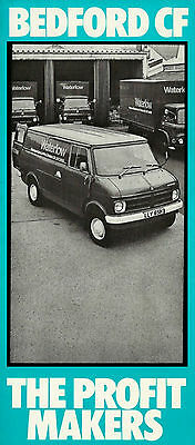 Bedford Cf Mailer Brochure B1535 02.73 (Uk)