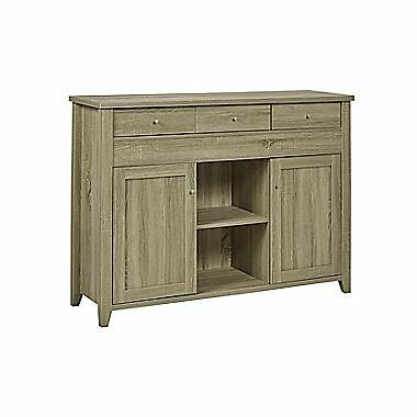 Candace & Basil Buffet with Side Extension – 47.25 x 15.5 x 37 – Dark Taupe