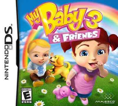 My Baby 3 & Friends Ds  (Us Import)  Game New