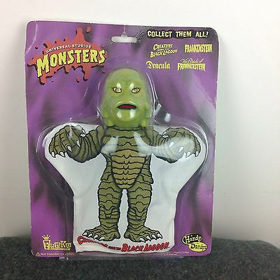 """Universal Studios Monsters Creature From The Black Lagoon 10"""" Hand Puppet Handy"""