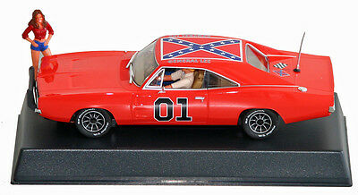 "Pioneer P016R-NK Dodge Charger R/T ""General Lee""  Daisy in red top, no key ring"