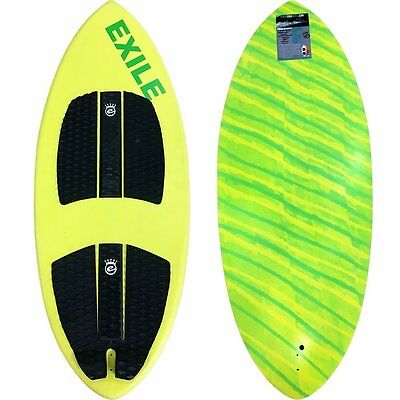 Exile Wake E-Glass Epoxy Accelerator Wakesurfer - Large