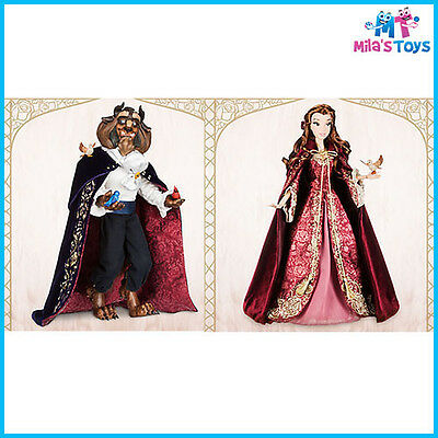 Disney Beauty and the Beast Limited Edition Belle and Beast Dolls