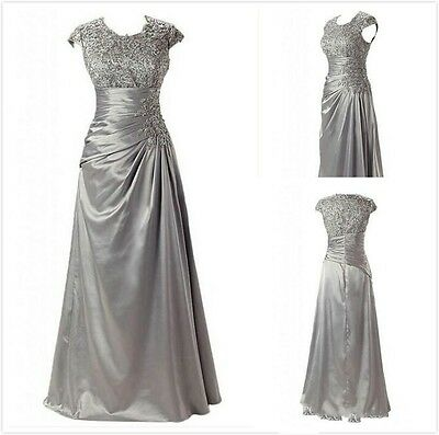 Custom Lace Mother of the Bride Formal Dress New Prom Party Evening Wedding Gown