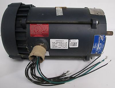 Leeson 111926.00 A6T17XC22J AC 3-Phase Explosion Proof Motor 1hp/60Hz ¾hp/50Hz