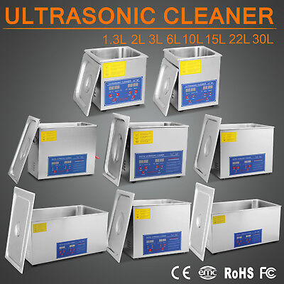 1.3-30L  Ultrasonic Ultraschallreinigungsgerät Ultraschall Cleaner Reiniger NEU