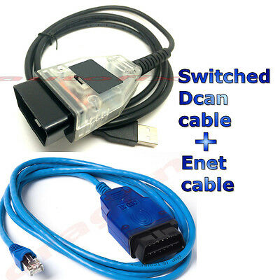 ENET Coding F-series and  INPA K + Dcan Switched Diagnostic Cable for BMW