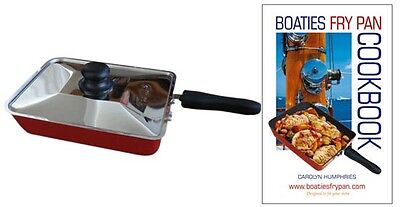 Boaties Frying Pan With Free Boaties Cook Book Sailing Boating Camping QS2 RS8