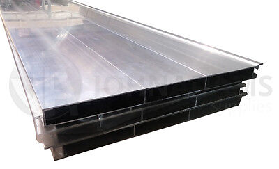 Aluminium Drop Side Hollow Side Plank Section Extrusion Pickup Truck Body 400mm