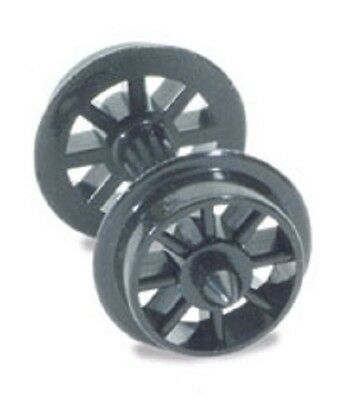 PECO NR 101 N SCALE Spoked Wheels On Axles Hardlon Mouldings