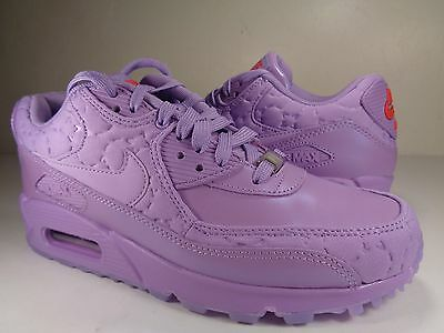 check out e7b55 2f161 Womens Nike Air Max 90 City QS Paris Macaroon Lavender Red SZ 7 (813150-