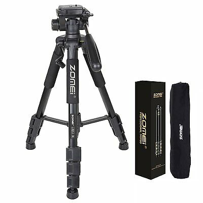 Q111 Professional Compact Aluminium Tripod&Ball Head for DSLR Digital Camera