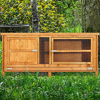 4ft Chartwell Single Deluxe Large Rabbit / Guinea Pig Run Outdoor Rabbit Hutch