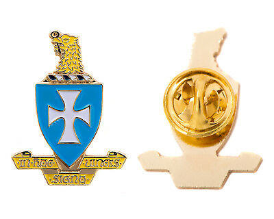 Sigma Chi Gold Color Crest Lapel Pin
