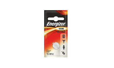 CR1220 Energizer 3 Volt Lithium Coin Cell Battery (On Card)