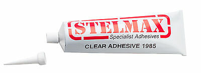 1 x STELMAX 1985 Adhesive PVC Solvent/Resin Based Window | 135g | CLEAR