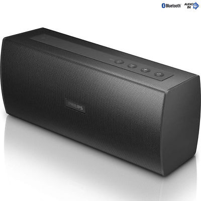 Philips BT3080B Portable Stereo Bluetooth Wireless USB Rechargeable Speaker/Mi