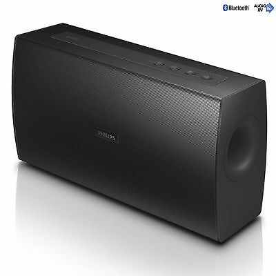 Philips BT4080B 20W Portable Stereo Bluetooth/NFC Wireless Rechargeable Speaker