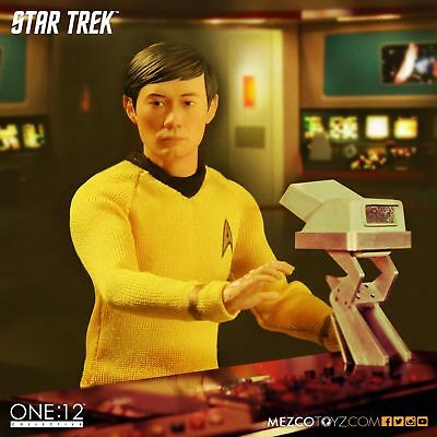 Mezco One:12 Collective Star Trek The Original Series Sulu In Stock Usa