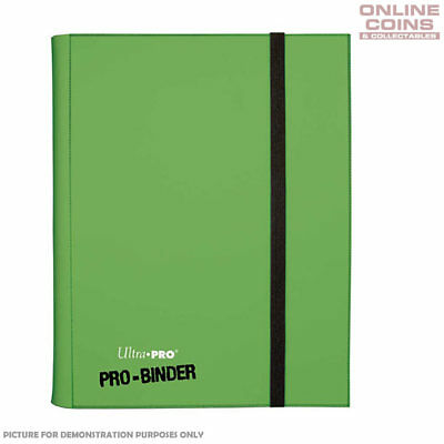 Ultra-Pro Lt Green Pro Binder - Includes 20 Trading Card Pages to Hold 360 Cards