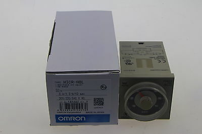 Omron Timer H3CR-H8L 200-240VAC Power OFF Delay New In Box