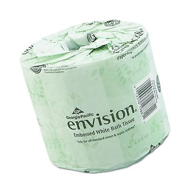 "Georgia-Pacific Envision 19880/01 White 2-Ply Embossed Bathroom Tissue 4.05"" ..."