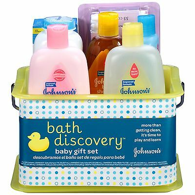 Johnson's BATHTIME Gift Set 8 Items Bath Gift Set