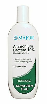 [2 Pack] Ammonium Lactate 12% Moisturizing Lotion 226Gm (8 Oz) Each (Pack Of ...